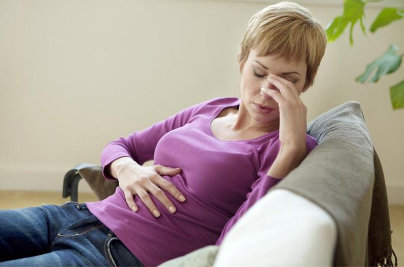 Тошнота и тяжесть в желудке у беременных