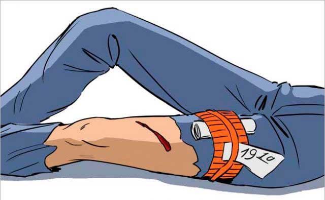 Что делать при открытом переломе ноги
